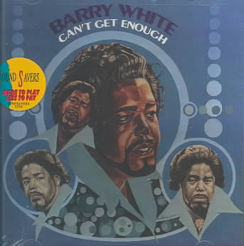 CAN'T GET ENOUGH BY WHITE,BARRY (CD)